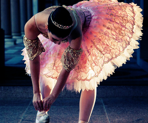 ballet, ballerina, and pink image