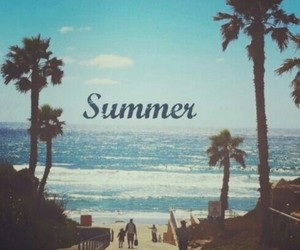 beach, boys, and california image