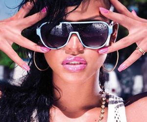 cassie, pink, and pink lips image