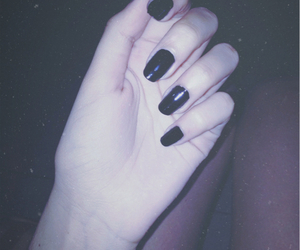 grunge, nails, and pale image