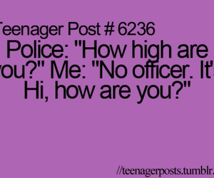 teenager post, funny, and police image