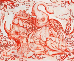 drawing and James Jean image