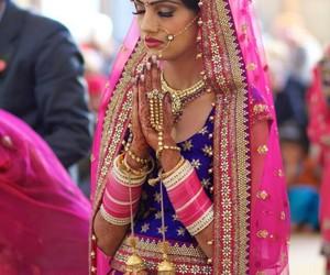bangles, jewelry, and praying image