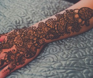 art, henna, and design image