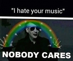 music and Marilyn Manson image