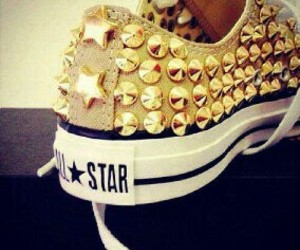 all star, girl, and shoe image