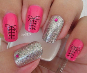 nails, cute, and girly image