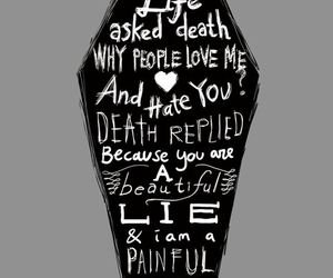 life, death, and lie image