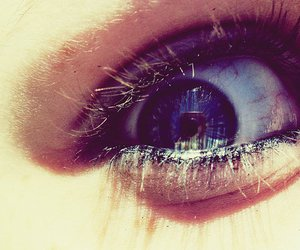 blue, cool, and eye image