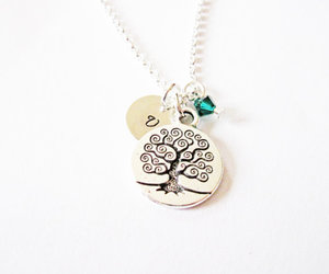 tree life, tree of life, and silver jewelry image