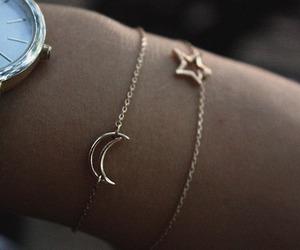 stars, moon, and bracelet image