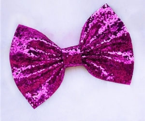 bow, glitter, and sparkles image