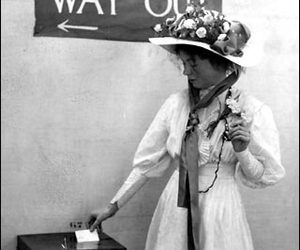 equality, suffragettes, and woman image