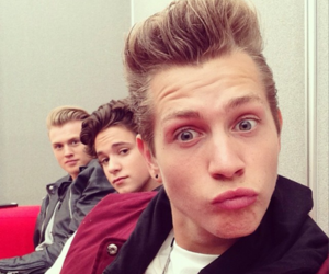 the vamps, james mcvey, and tristan evans image