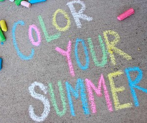 summer, color, and colors image