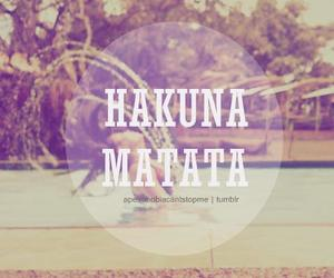 love, hakuna matata, and summer image