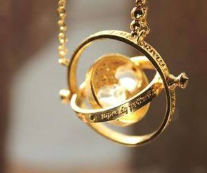 harry potter, gold, and time image