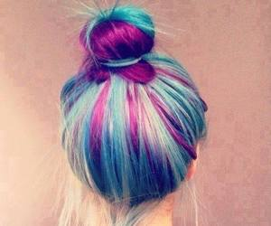 beach, colors, and hairstyle image
