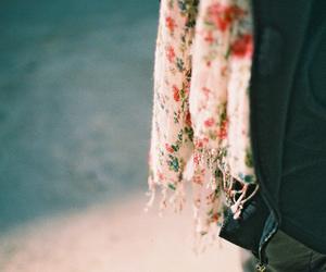 vintage, photography, and scarf image