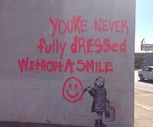 smile, quote, and pink image