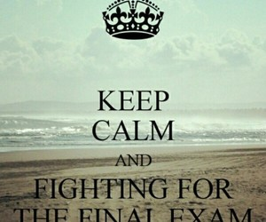 exams, quote, and final image