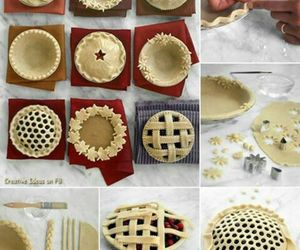 pie, diy, and cake image
