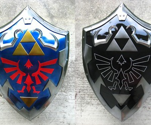 shield and zelda image