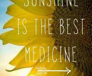 sunshine, medicine, and summer image
