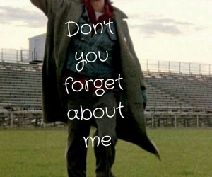athlete, The Breakfast Club, and don't you forget about me image