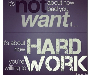 fitness, hard work, and goals image