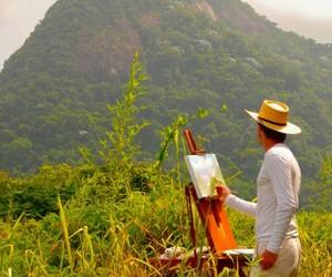 artist, brazil, and cristo redentor image