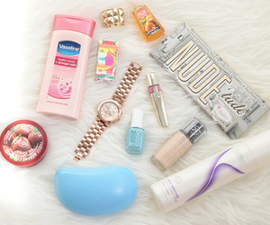 accessories, girly, and makeup image
