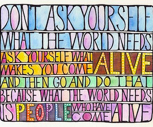 alive, inspirational, and quote image