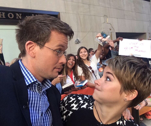 john green, Shailene Woodley, and hazel image