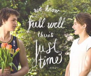 the fault in our stars, Shailene Woodley, and ansel elgort image