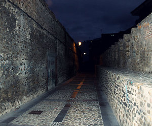 dark, street, and oscuro image