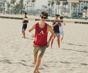 nash grier, beach, and nash image