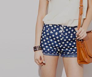 polka dots and shorts image