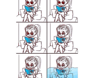 book, the fault in our stars, and sad image