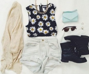 daisy, informal, and outfit image