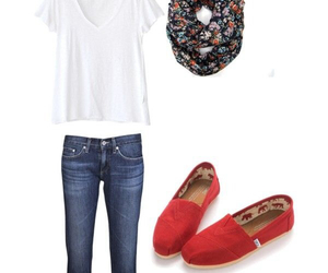girl, toms, and cute image
