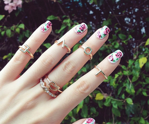 nails, rings, and love image