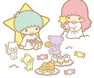 cupcake, sanrio, and sweets image