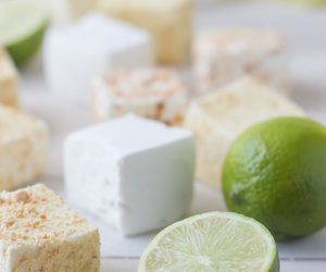 food, marshmallows, and key lime image