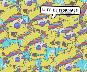 bart, wallpaper, and simpsons image