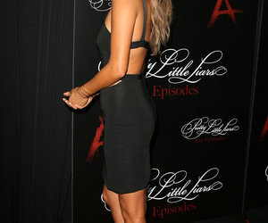 shay mitchell, beauty, and heels image