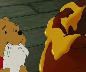 honey, disney, and winnie the pooh image
