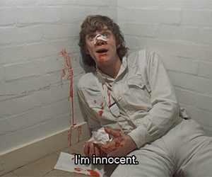 a clockwork orange, alex, and innocent image