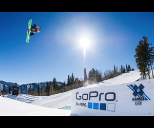 aspen, snowboard, and snowboarding image