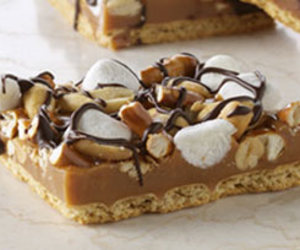 caramel, Cookies, and crunch image